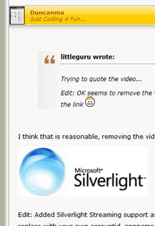 SilverlightStreaming
