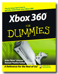 Book Cover, Xbox 360 for Dummies